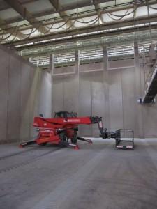 reparatie technische instalatie holland malt eemshaven met hoogwerker