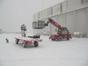 wij helpen uw produktie in barre omstandigheden ook op gang te houden!