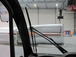 windturbine wieken transport klaar maken voor italie in eemshaven samen met collega bultena (3)